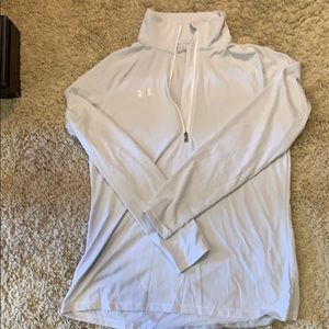 Under armour 1/4 zip dry fit top